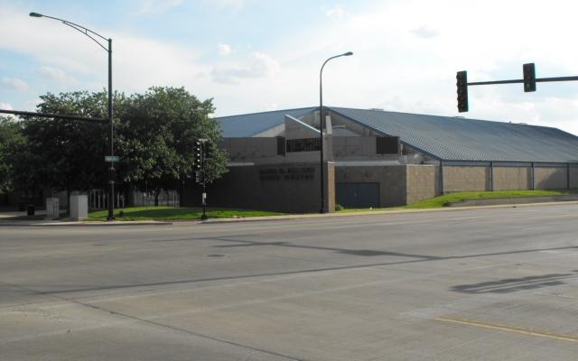 Palmer Arena Outside Hegeler Gift