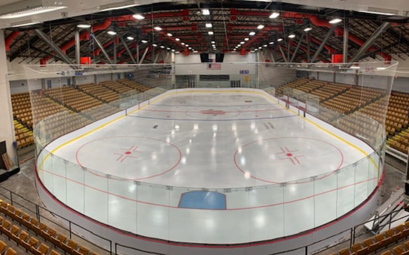 Palmer Arena New Ice